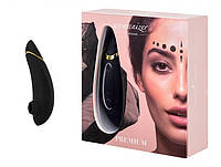 Безконтактний Кліторальний Стимулятор Womanizer Premium Black, фото 1