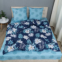 Комплект постельного белья KrisPol «Поляна цветов» 180x220 Ранфорс