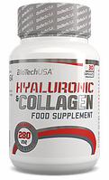 BioTech HYALURONIC & COLLAGEN 30 tabs