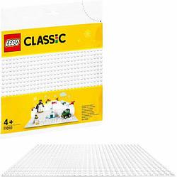 Lego Classic Белая базовая пластина 11010