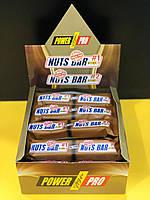 Протеиновый батончик Power Pro Nuts Bar SUGAR FREE 70 г. x 20 шт/блок