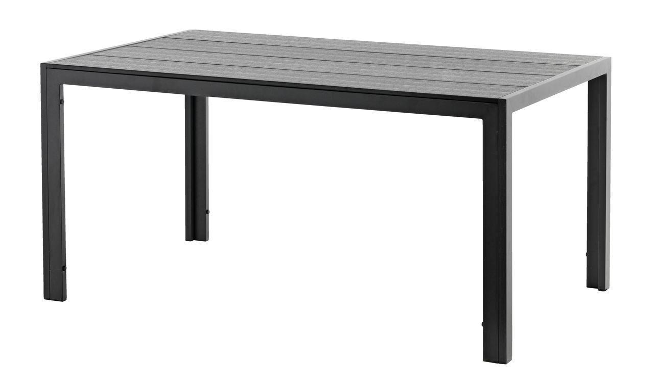Стол черный артвуд 150 см черный, bobi