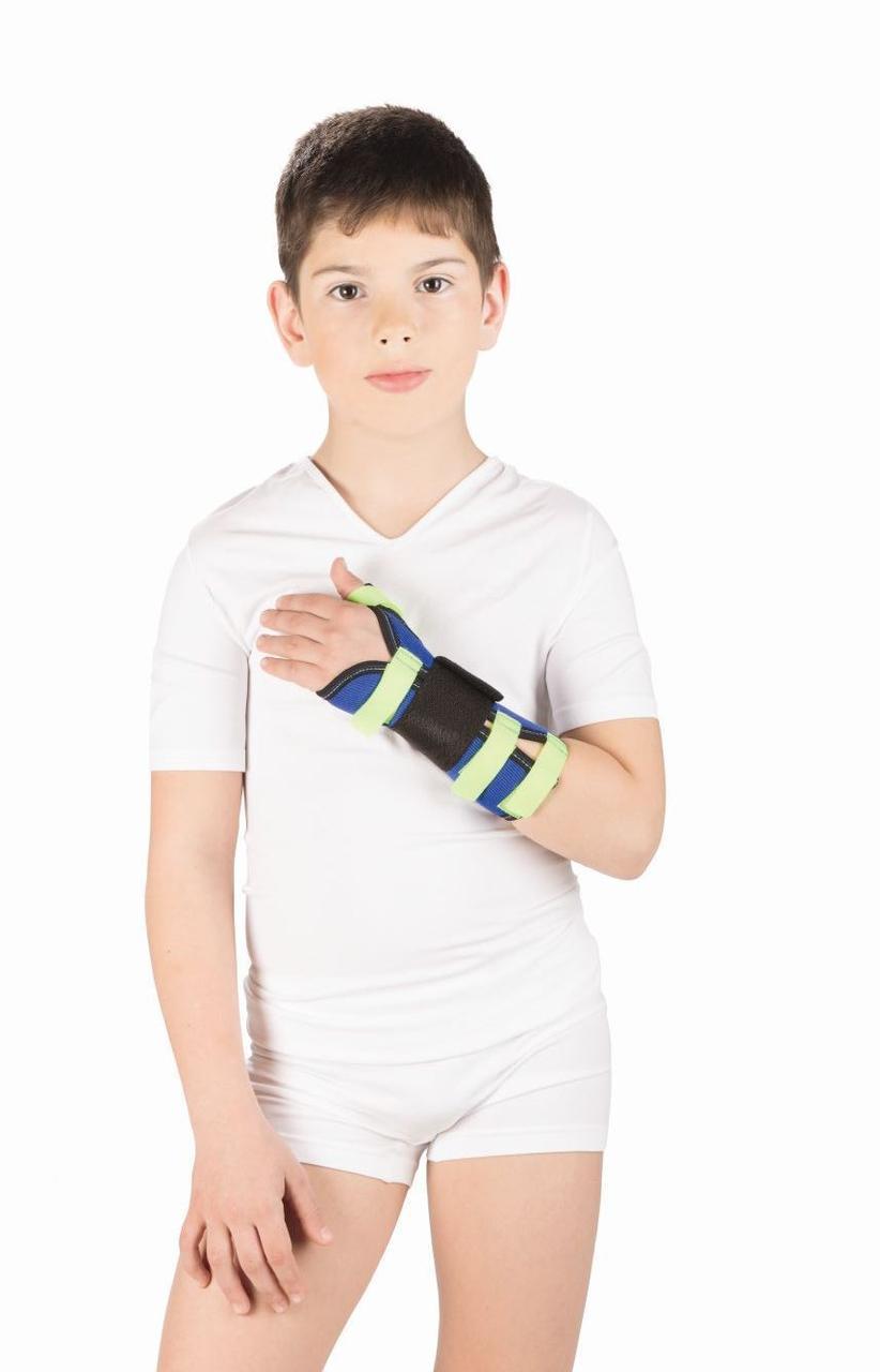 Ортез дитячий на променевозап'ястний суглоб з фіксацією першого пальця Т-8330