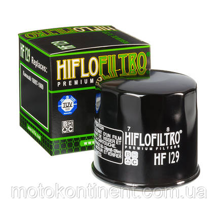 Фильтр масляный HIFLO HF129, фото 2