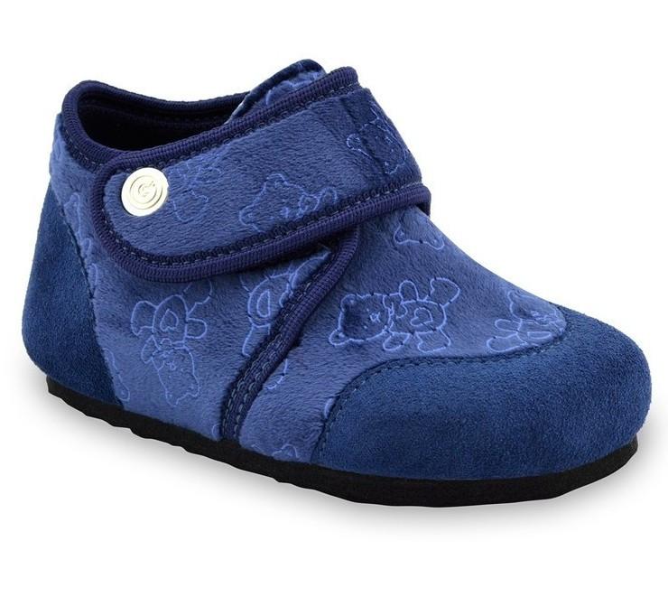 Тапочки домашні дитячі ортопедичні Kinder, Grubin сині