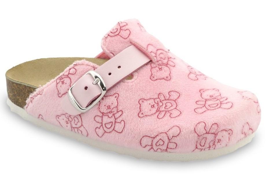 Сабо ортопедичні домашні дитячі Rim, Grubin рожеві
