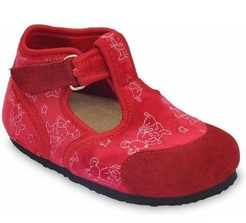 Тапочки домашні дитячі ортопедичні Corona, Grubin червоні
