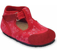 Тапочки домашні дитячі ортопедичні Corona, Grubin червоні, фото 1