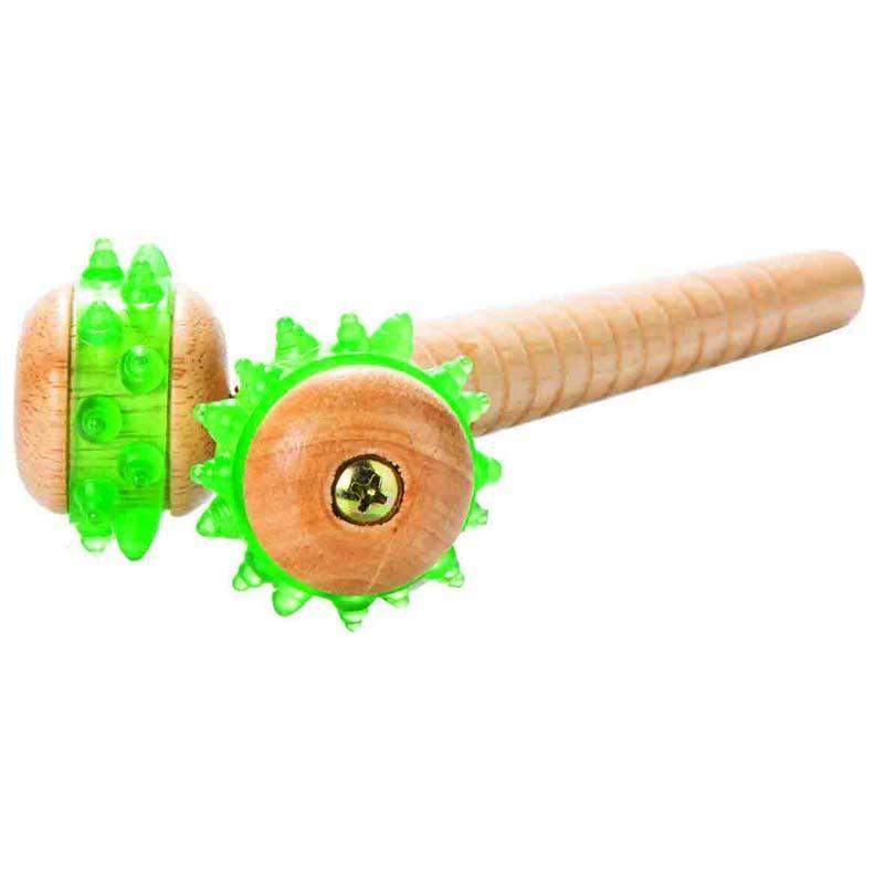 Массажер с деревянной ручкой OМ-526, OrtoMed