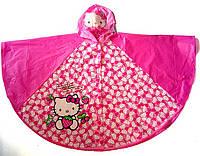 Дождевик для девочки пончо VOMBATO Hello Kitty