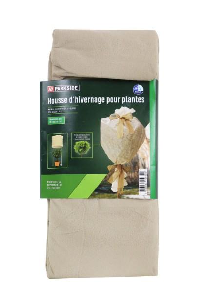 Фліс для захисту рослин від вітру і морозу PARKSIDE 80 х 500 см