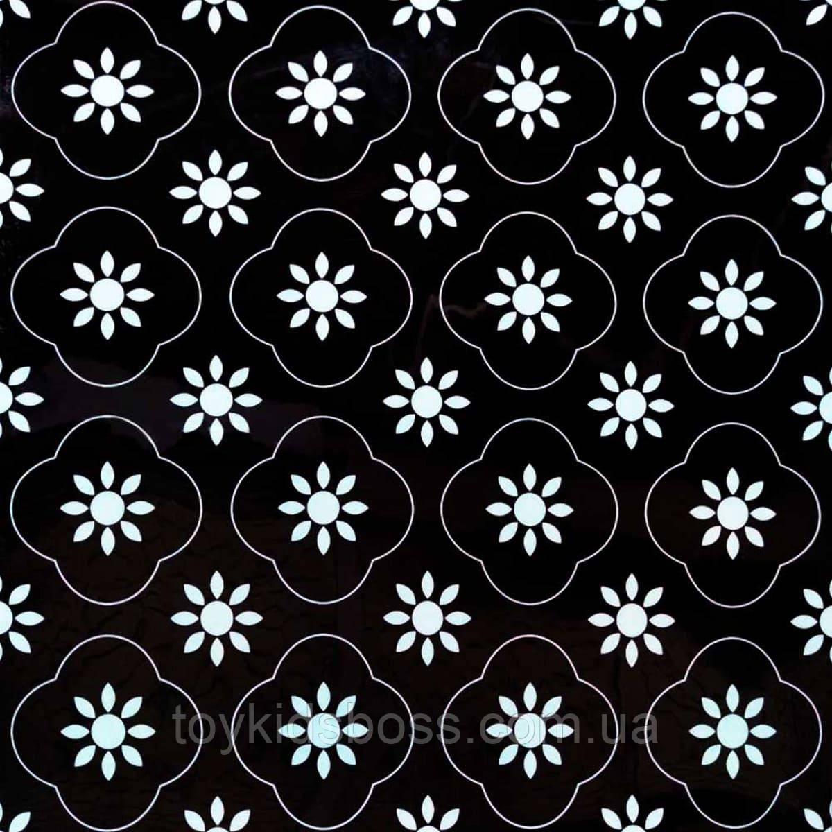 Самоклеюча вінілова плитка 600х600х1,5мм, ціна за 1 шт. (СВП-217) Глянець
