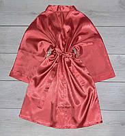 Однотонный домашний халат, женская одежда для дома.