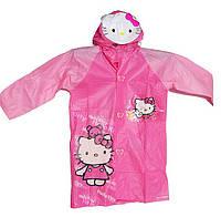 Дождевик для девочек VOMBATO Hello Kitty (с карманом для рюкзака)