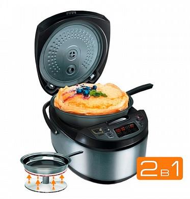 Мультиварка Redmond RMK-M451E со сковородой и подъёмным нагревательным элементом