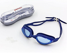 Очки для плавания с берушами в комплекте Sailto Темно-синие