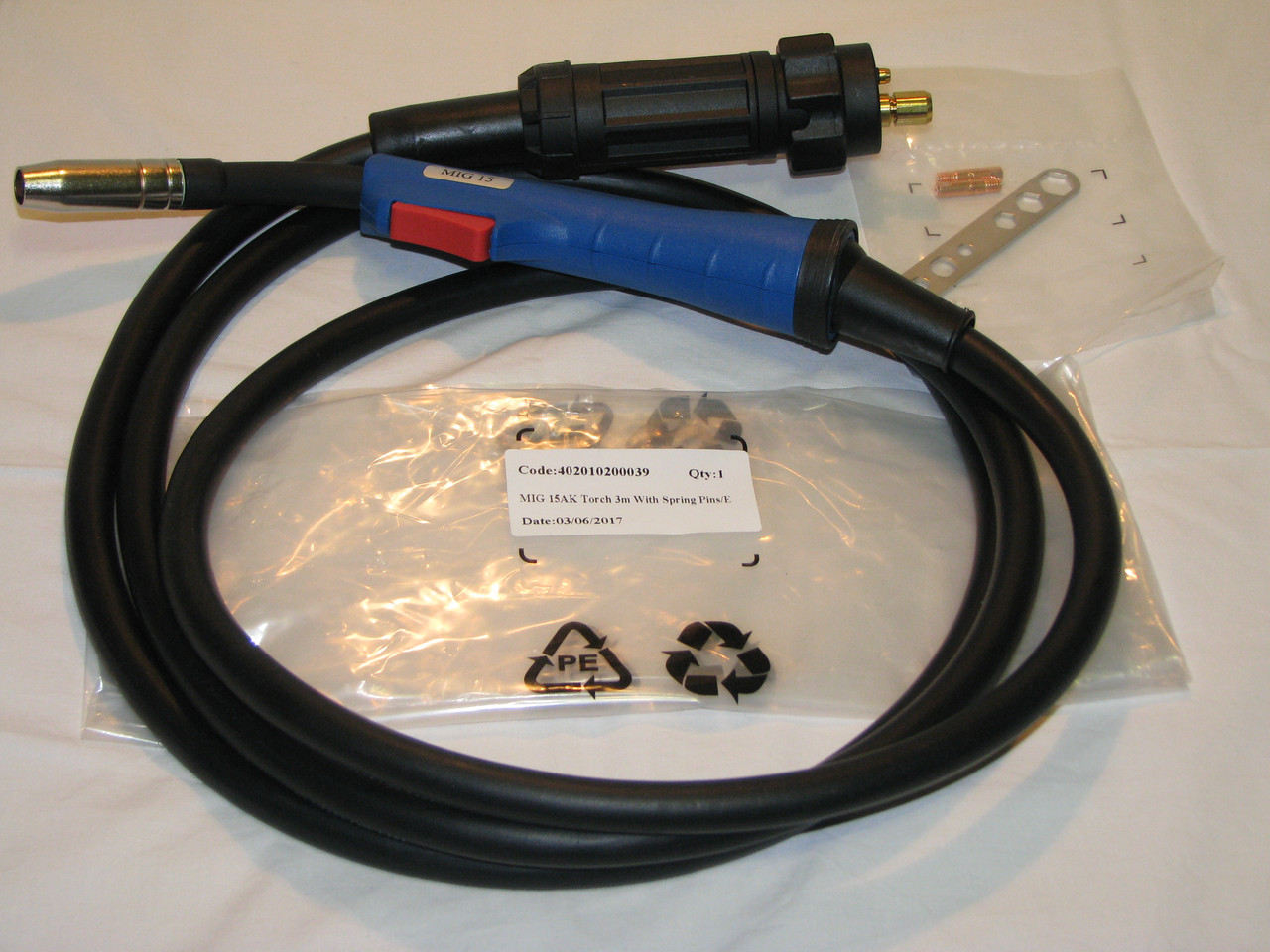 Сварочный рукав MIG 15AK ( Еврорукав ,горелка ) для полуавтомата