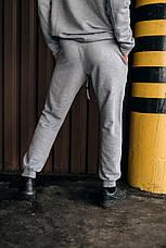 """Размеры S-3XL   Мужские спортивные штаны оверсайз """"Stroper"""" Intruder Grey, фото 2"""