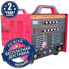 Сварочный аргоннодуговой аппарат Edon PulseTIG-200 AC/DC (+MMA)