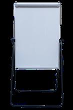 Флипчарт магнитный сухостираемый, 70 х100 cм, мобильный, вертикальный