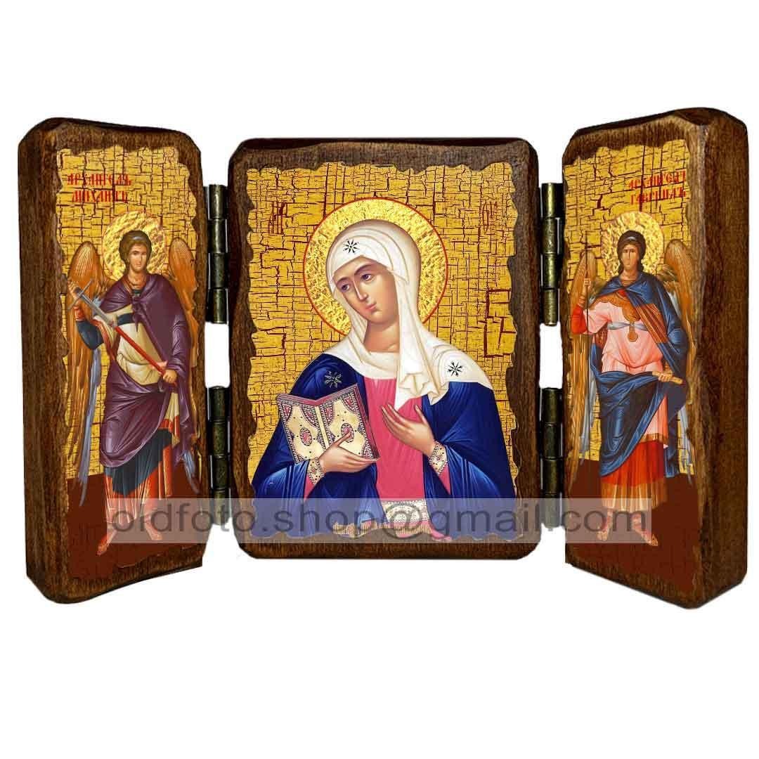 Калузька ікона Божої Матері ,ікона на дереві 260х170 мм