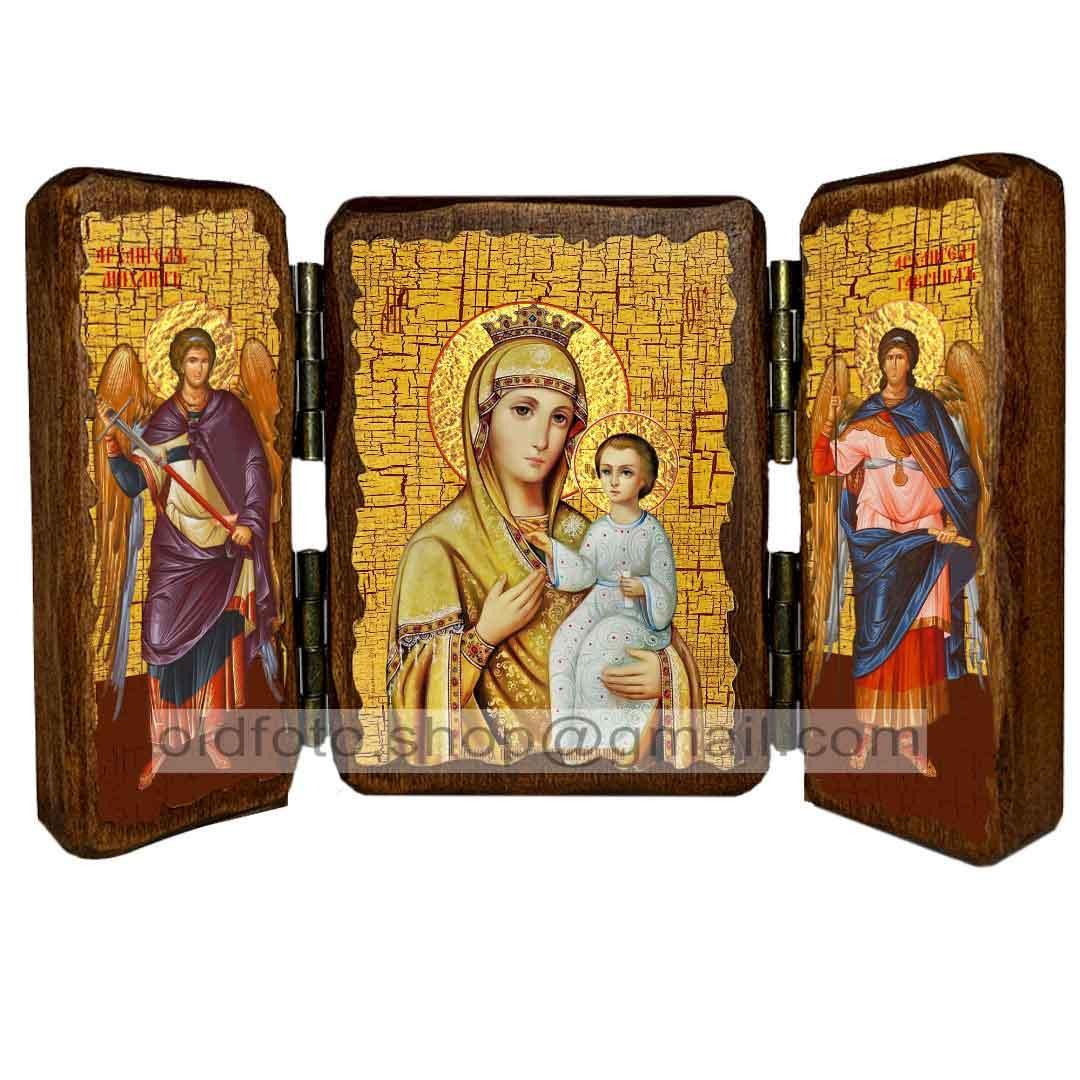 Избавительница Ікона Пресвята Богородиця ,ікона на дереві 260х170 мм