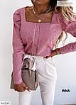 Жіноча сорочка в клітку, фото 7