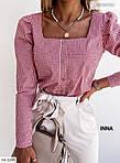 Жіноча сорочка в клітку, фото 8