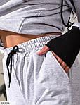 """Жіночий спортивний костюм """"1725"""" (Батал), фото 5"""