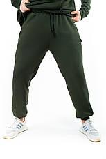 """Розміри S-3XL   Чоловічі спортивні штани оверсайз """"Stroper"""" Intruder Khaki, фото 3"""