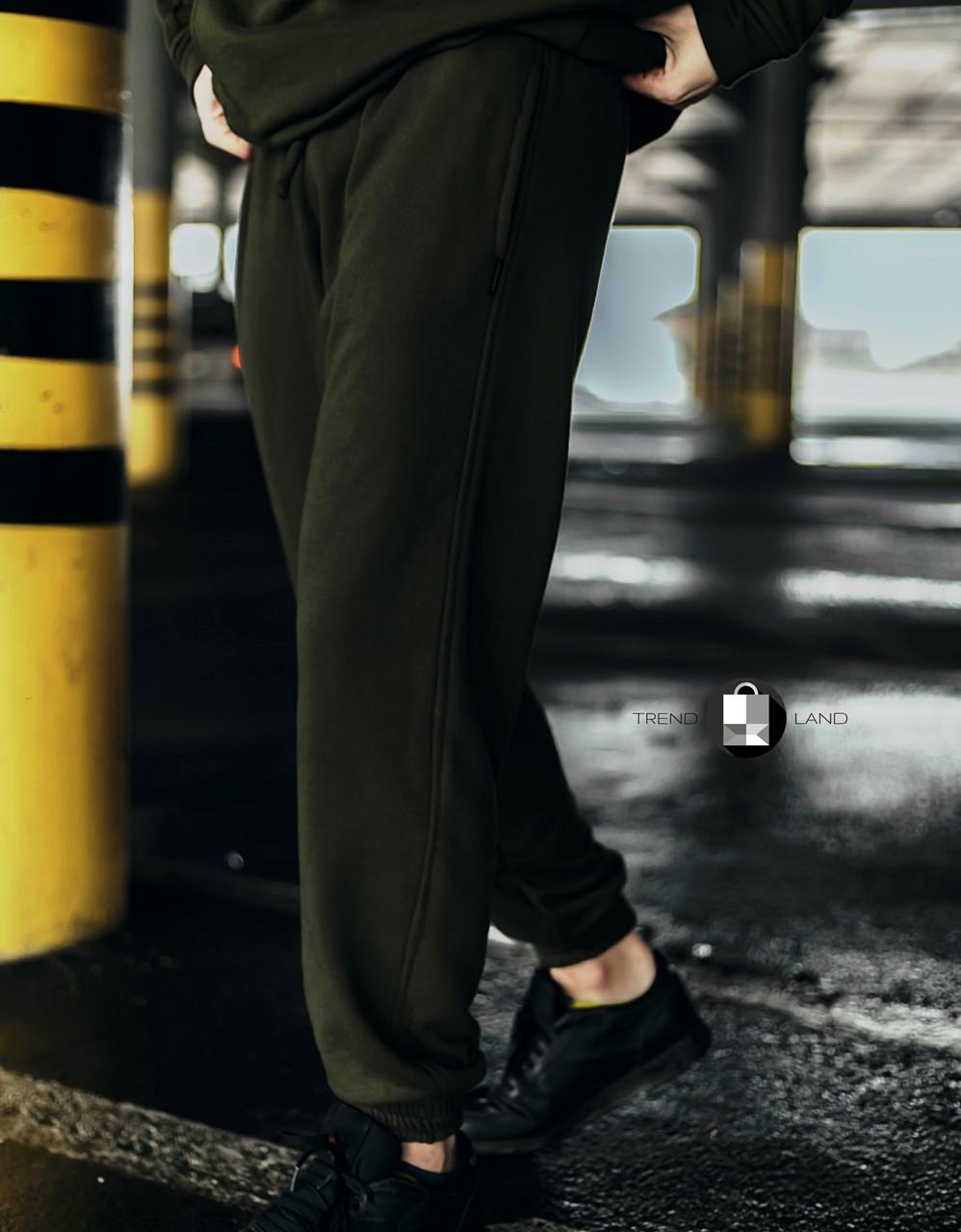 """Розміри S-3XL   Чоловічі спортивні штани оверсайз """"Stroper"""" Intruder Khaki"""