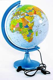 Глобус з підсвічуванням 250 політико-фізичний (рос.) BST 540088