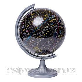 Глобус настільний оригінальний 250 мм небо - з поясненням (рос.) BST 540093