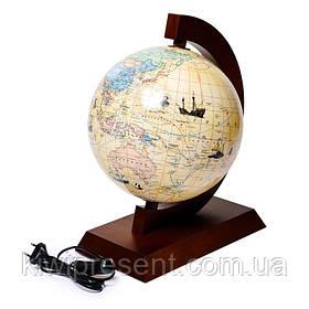 Глобус з маршрутами землепрохідців з підсвічуванням Glowala (рос.) 250 мм 540101