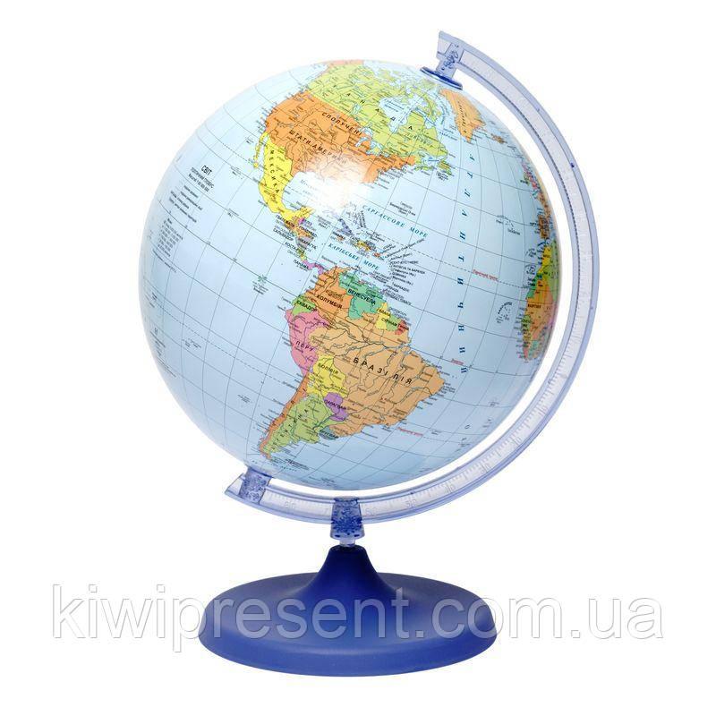 Шкільний Глобус політичний Glowala 220 мм (укр.) 540215
