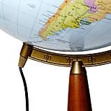 Глобус напольный с подсветкой политико-физический Glowala 420 мм (рус.) 540216, фото 3