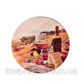 Дошка для нарізки сиру з дерева 25 див. BST 122012