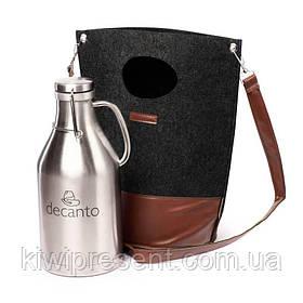 Гроулер-термос для пива 1,9 л. с сумкой 121001