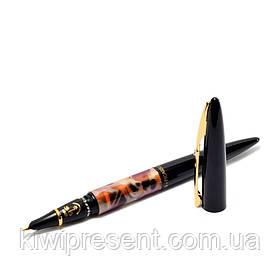 Перьевая ручка PICASSO FSD-988-F-BL в деревянном футляре