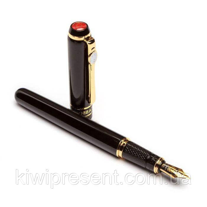 Перьевая ручка PICASSO FS-998-F 138 мм чёрная