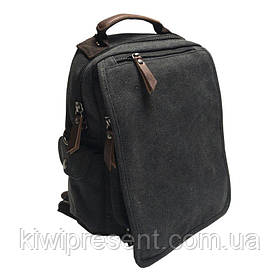 Рюкзак мужской городской BST 280039 32х24х9 см. черный