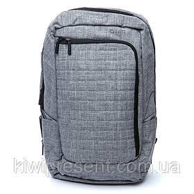 Рюкзак мужской городской с USB портом BST 320021 48х33х20 см. светло-серый