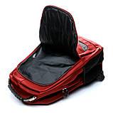 Рюкзак міський BST 430020 35х18х48 див. червоний, фото 3