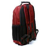 Рюкзак міський BST 430022 32х15х48т див. червоний, фото 2