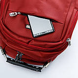 Рюкзак міський BST 430022 32х15х48т див. червоний, фото 6