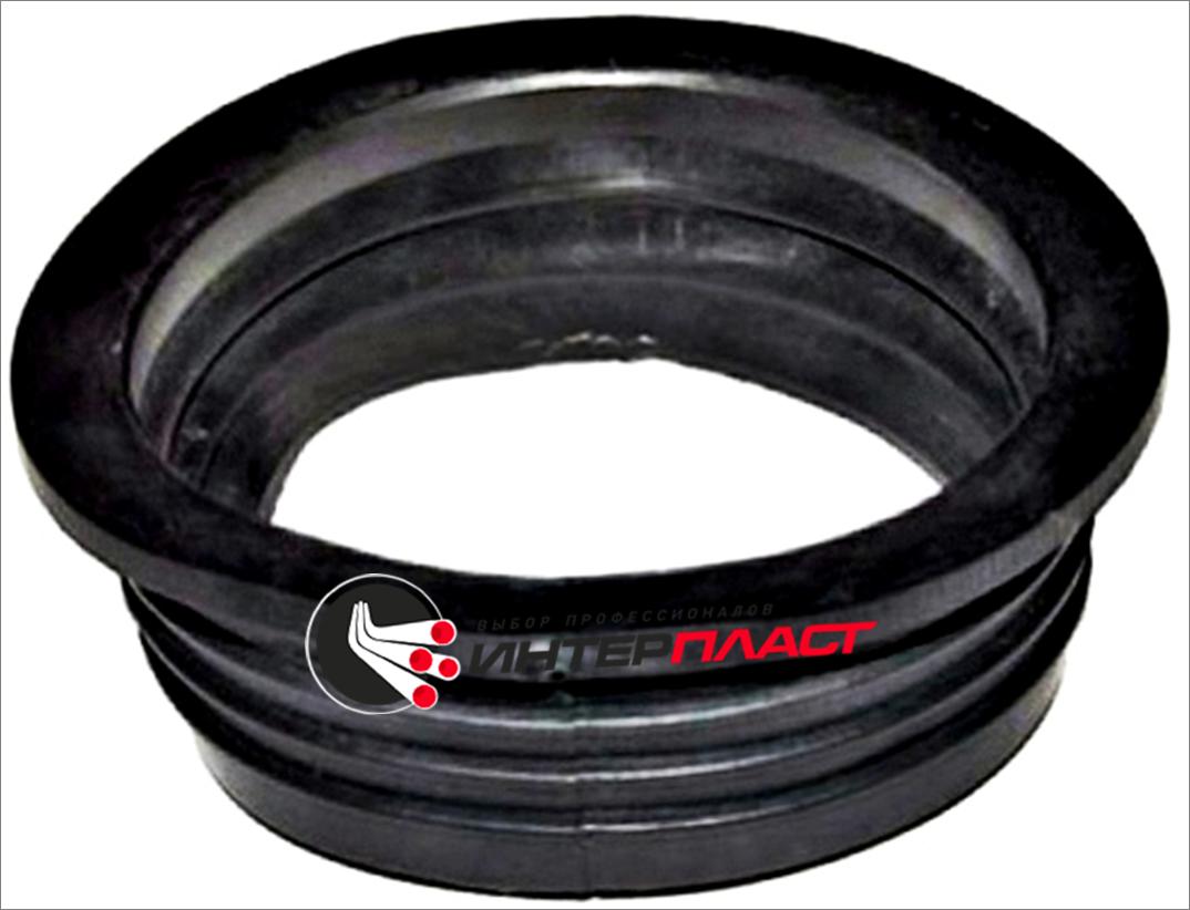 Перехід гумовий 124х110 (чавун/пластик)