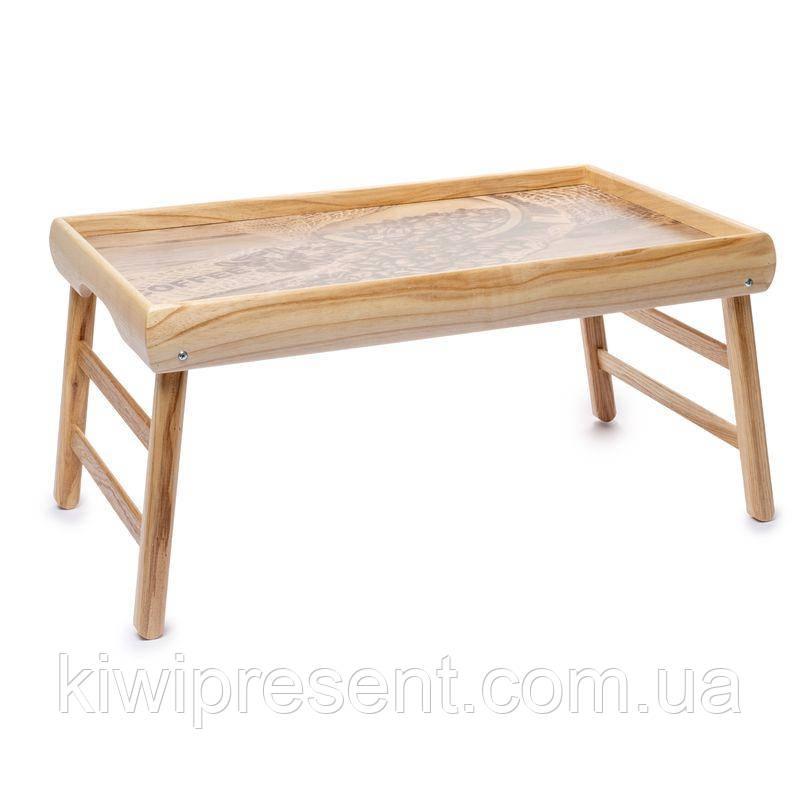"""Столик на ніжках """"Чашки еспрессо"""" 040449"""