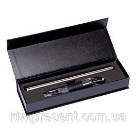 Чиллер охолоджувач - аератор для вина подарунковій коробці Decanto 980016