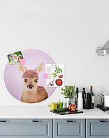 Магнітна дошка-постер із зображенням Оленя 600х600мм Smart-Offise