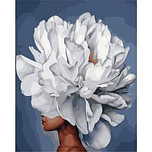 Картина по Номерам Изысканный пион Эми Джад 40х50см Strateg